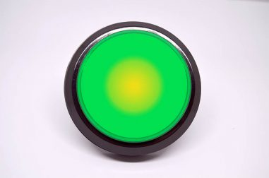 arcade4you_100mm_button_green_front_light